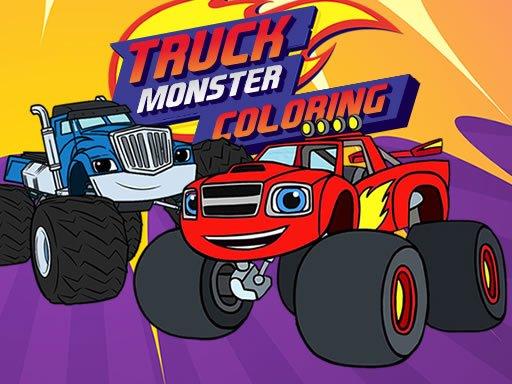 Blaze Monster Truck Coloring Book