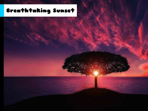 Breathtaking Sunset Jigsaw