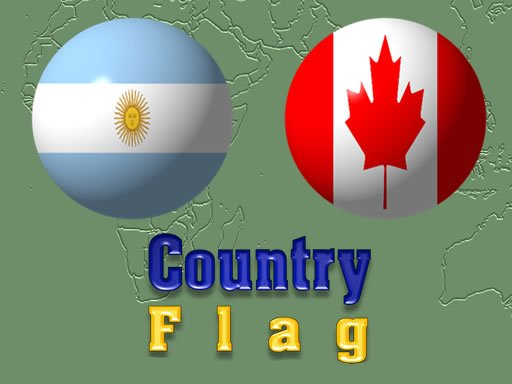 Вікторина з прапором країни