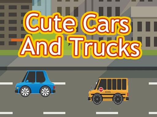 Cute Cars And Trucks Match 3