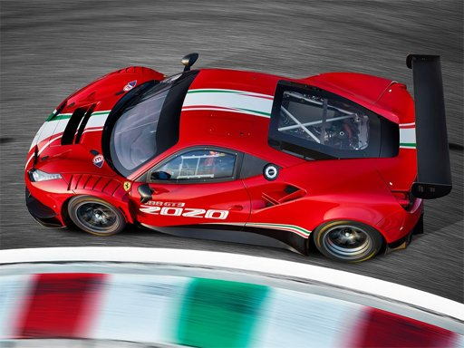 Ferrari 488 GT3 Evo Puzzle - GM