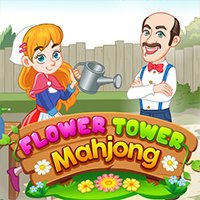Flower Tower Mahjong