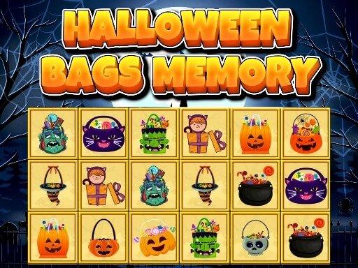 Halloween Bags Memory