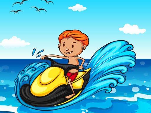 Jet Ski Summer Fun Hidden