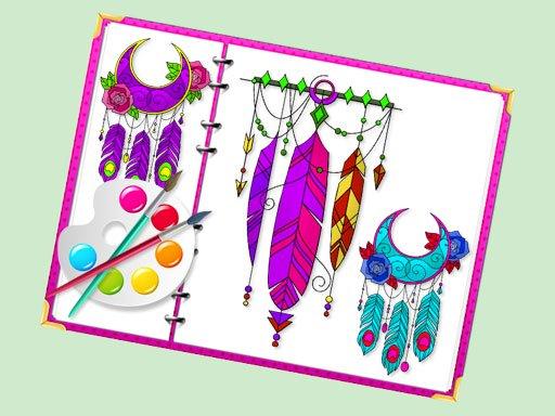 Miraculous Dream Catcher Coloring Book