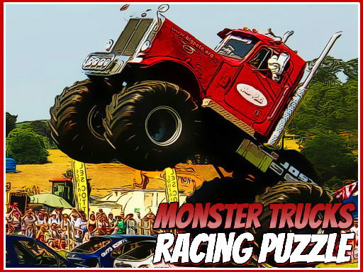 Monster Trucks Racing Puzzle
