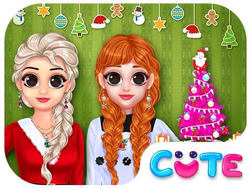 Princess Ready For Christmas