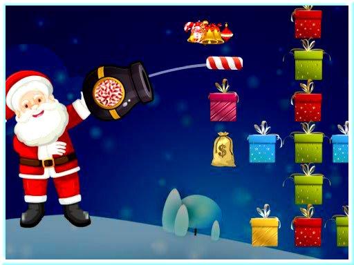 Санта подарок шутер