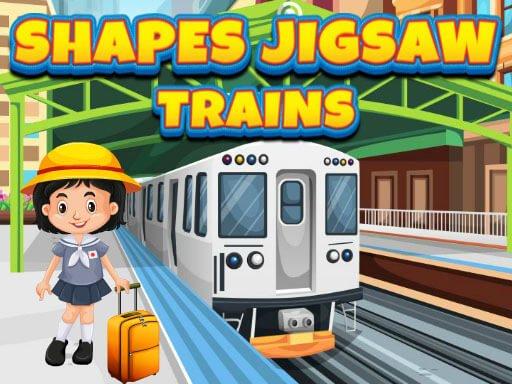 Формы Jigsaw Поезда